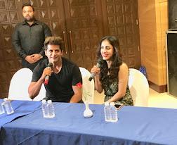 बिग बोस फेम करणवीर बोहरा फिल्म के प्रमोशन के लिए पहुंचे ताजनगरी