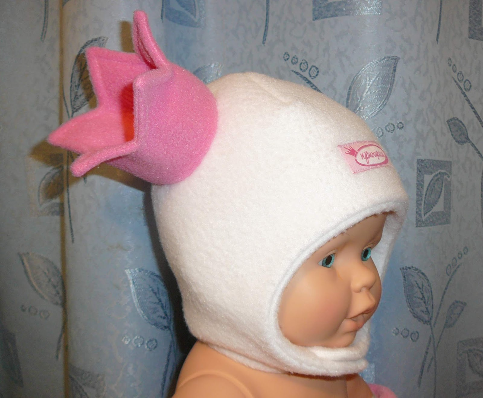 Сшить шапку из флиса с ушками