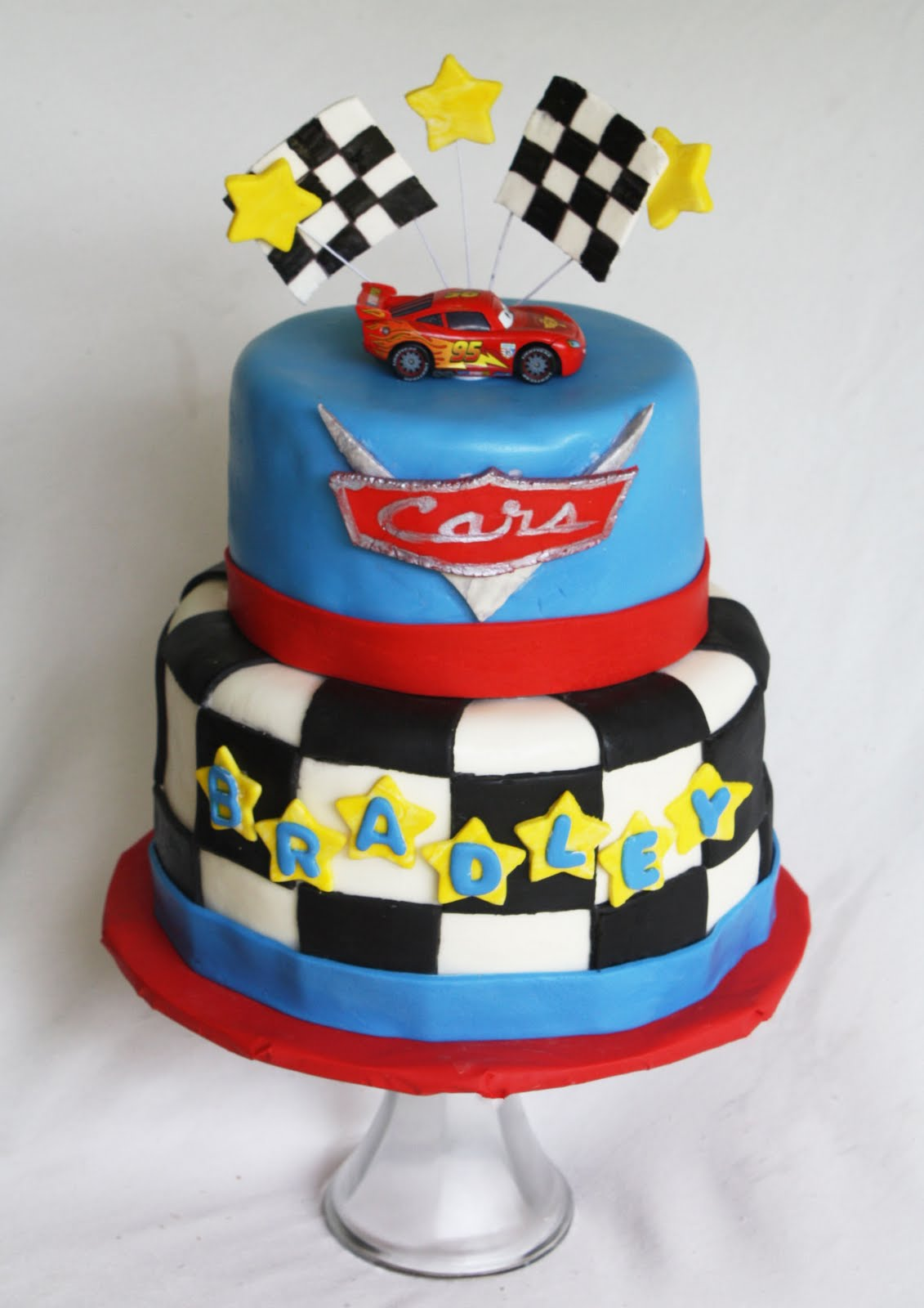 Images Of Cars Birthday Cake : A Disney Cars Cake
