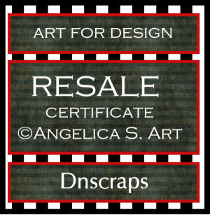 Certificate @Angelica S.Art. Resale