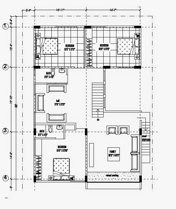 1st Floor Plan Ghar Planner Leading House Plan And House Design Drawings On Duplex