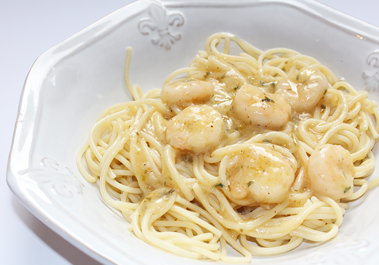 Shrimp Scampi Seafood Pasta Recipe