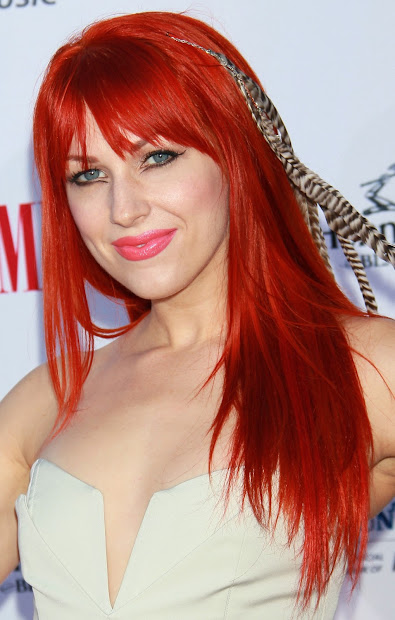 red hair celebrity hairstyles
