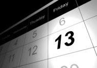 13 Fakta di Hari Jumat Tanggal 13