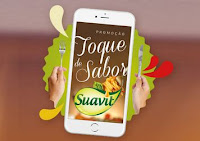Promoção Toque de Sabor Suavit www.saborsuavit.com.br