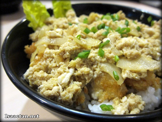 #2 Fish Katsudon on Rice - RM11.90