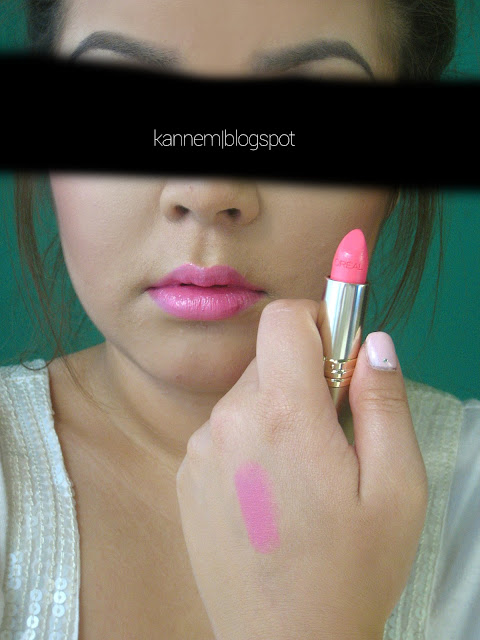 L'Oreal I Pink You're Cute Colour Riche Lipstick Swatch