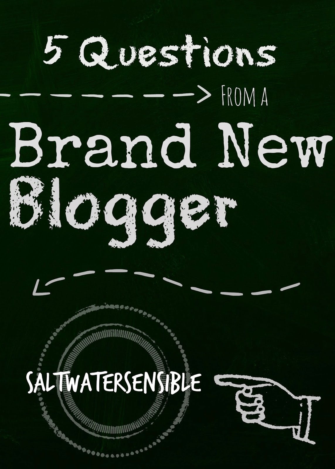 5 questions from a brand new blogger