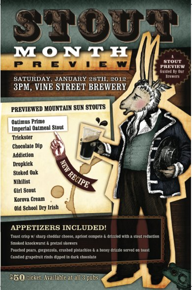 Vine Street Stout Month Preview