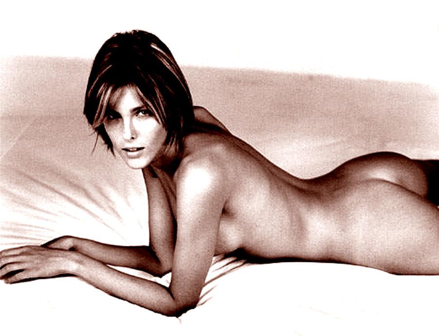 Naked striptease video