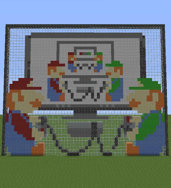 Pixel luigi   Davy's Party Ideas   Minecraft blocks, Fuse ...