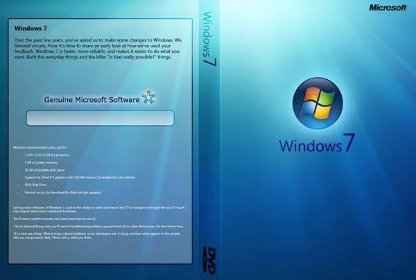 Download Windows 7 SP1 OEM x86/x64 PT-BR Windows 7 DVD Cover by magbanuamicah