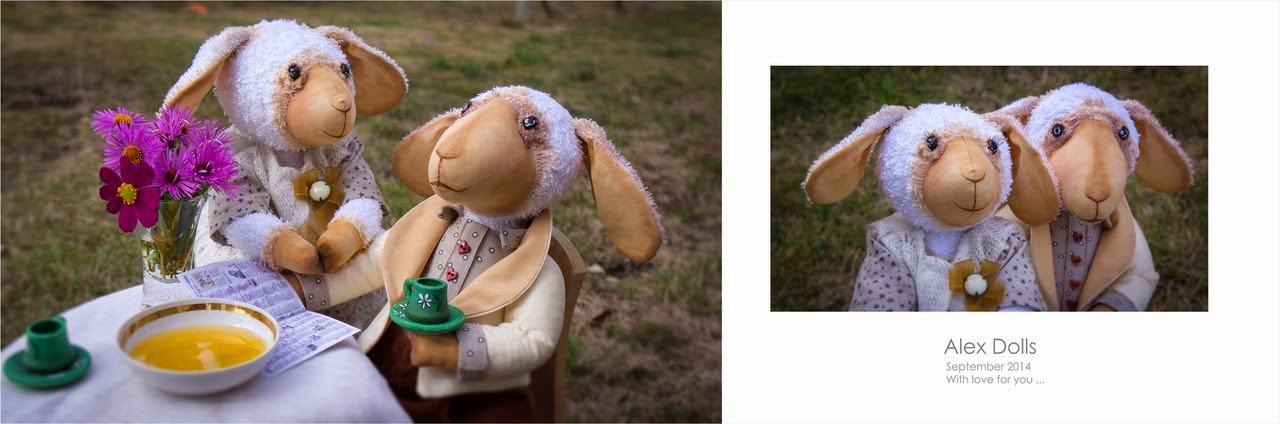 овечка, барашек, текстильная овечка, текстильная игрушка