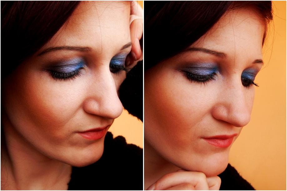 W kolorze- makijaż tym razem.