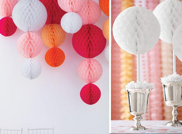 Entre n vols de cot boles de paper niu d 39 abella bolas - Bolas de decoracion ...