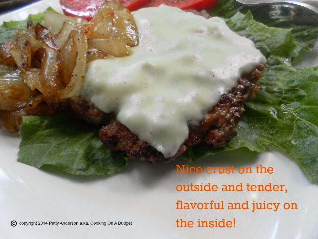how to make aussie burger patties from ground beef