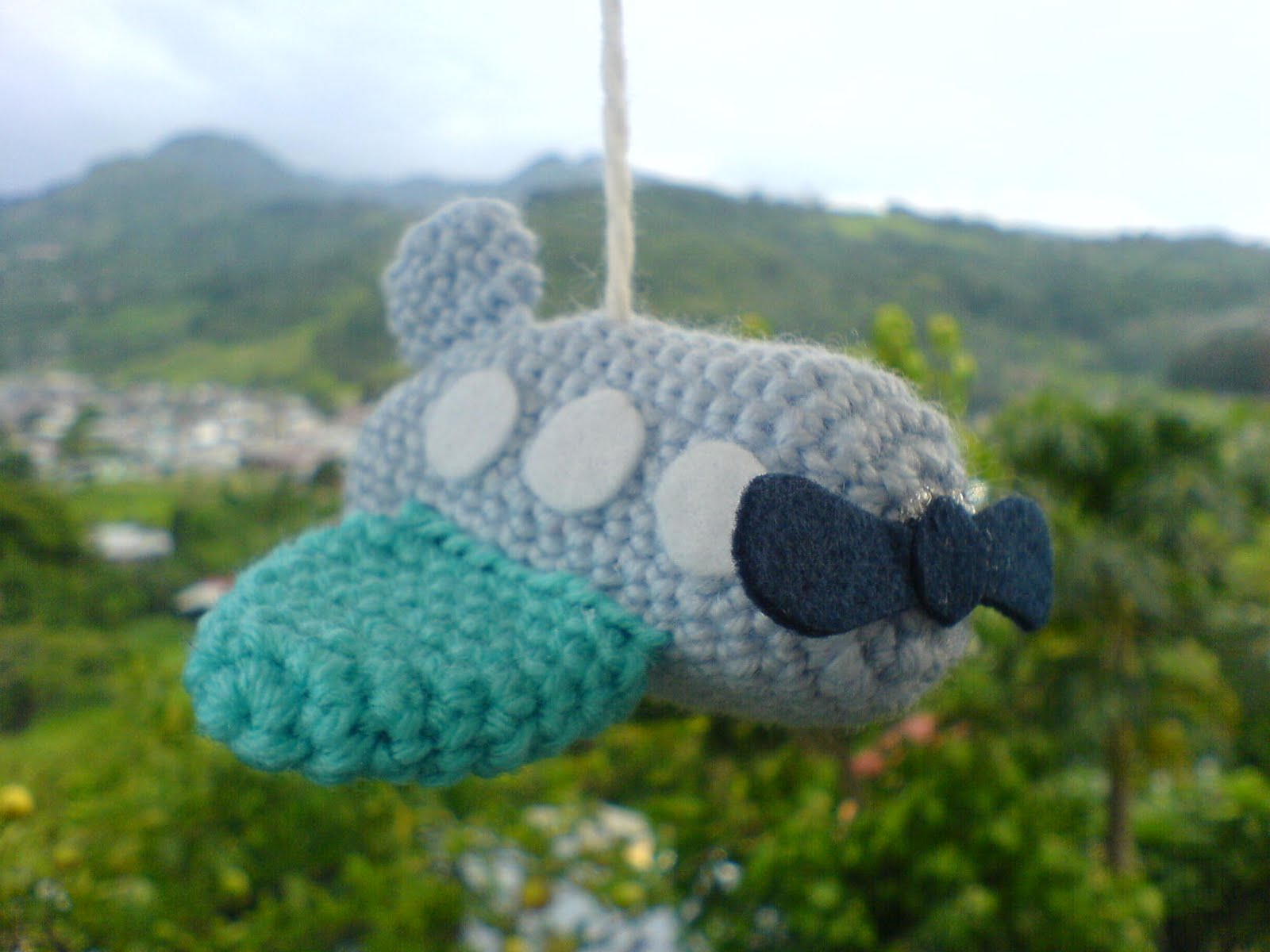 Amigurumi Plane Baby Mobile : 2000 Free Amigurumi Patterns: Fly to the Sky Plane Crochet ...