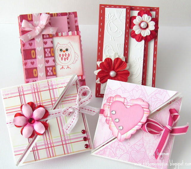Multi- Fold Cards for Valentines Day