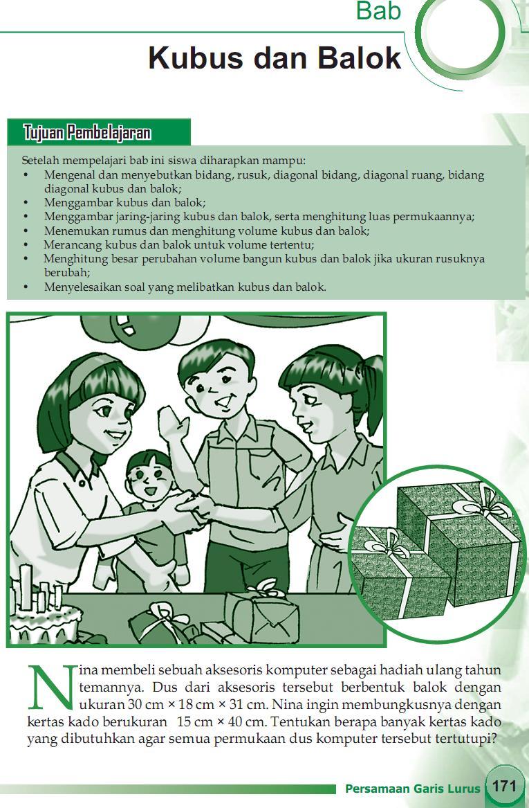 Os2kangkung Matematika Smp Mts Kelas 8 Bab 8 Kubus Dan Balok