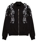 http://www.fecbek.com/women-s-fashion-metal-sequin-bead-stand-collar-zip-up-baseball-jacket-black.html