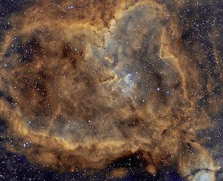 IC 1805: Luz do Coração