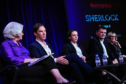 PBS' Sherlock Panel at Winter 2014 TCA Press Tour