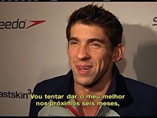 Phelps reafirma aposentadoria após Londres: 'Eu amei muito o esporte'
