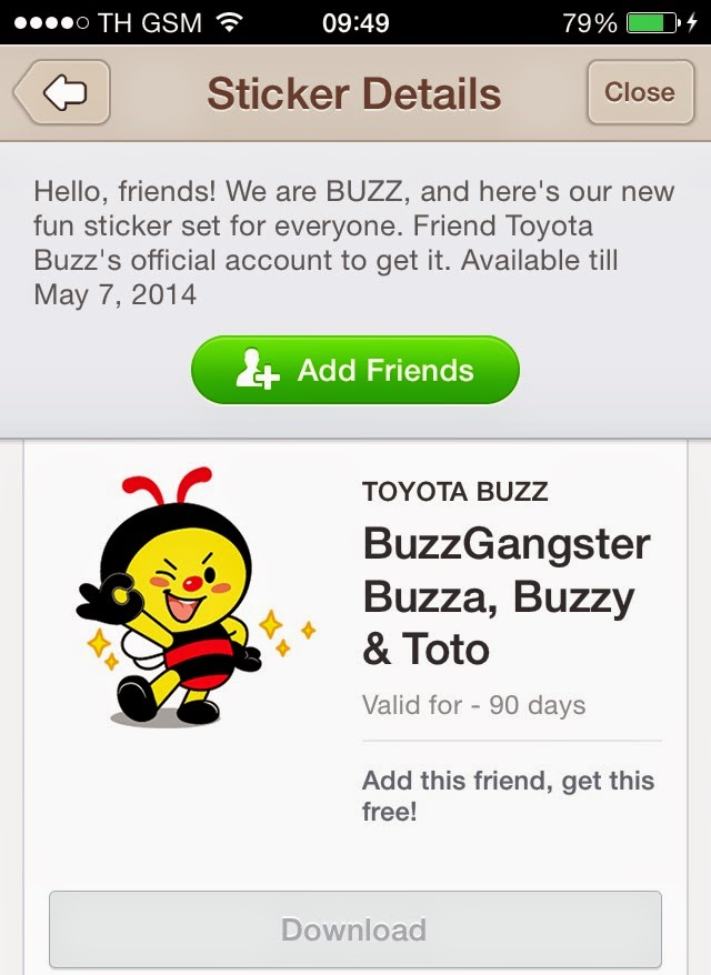 BuzzGangster Buzza, Buzzy & Toto stickers