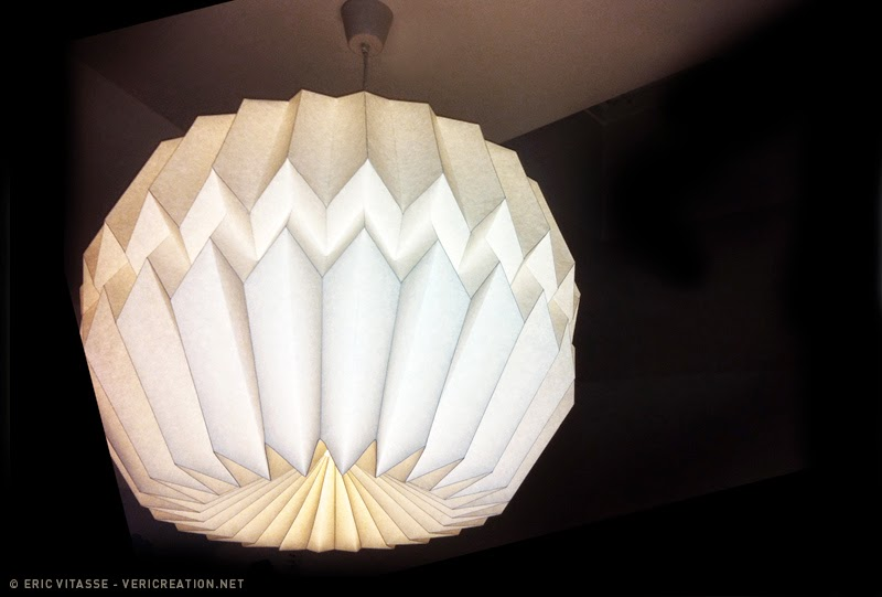 suspension origami king size atelier gaeleric eric. Black Bedroom Furniture Sets. Home Design Ideas