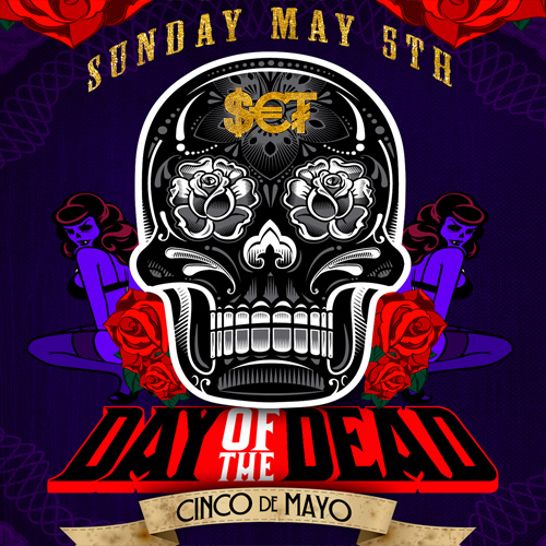 Events And Fun In South Beach Miami Day Of The Dead At Set Nightclub May 5 2013