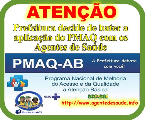 DEBATE%2Bpmaq%2Bacs Prefeitura decide debater a aplicação do PMAQ com os Agentes de Saúde