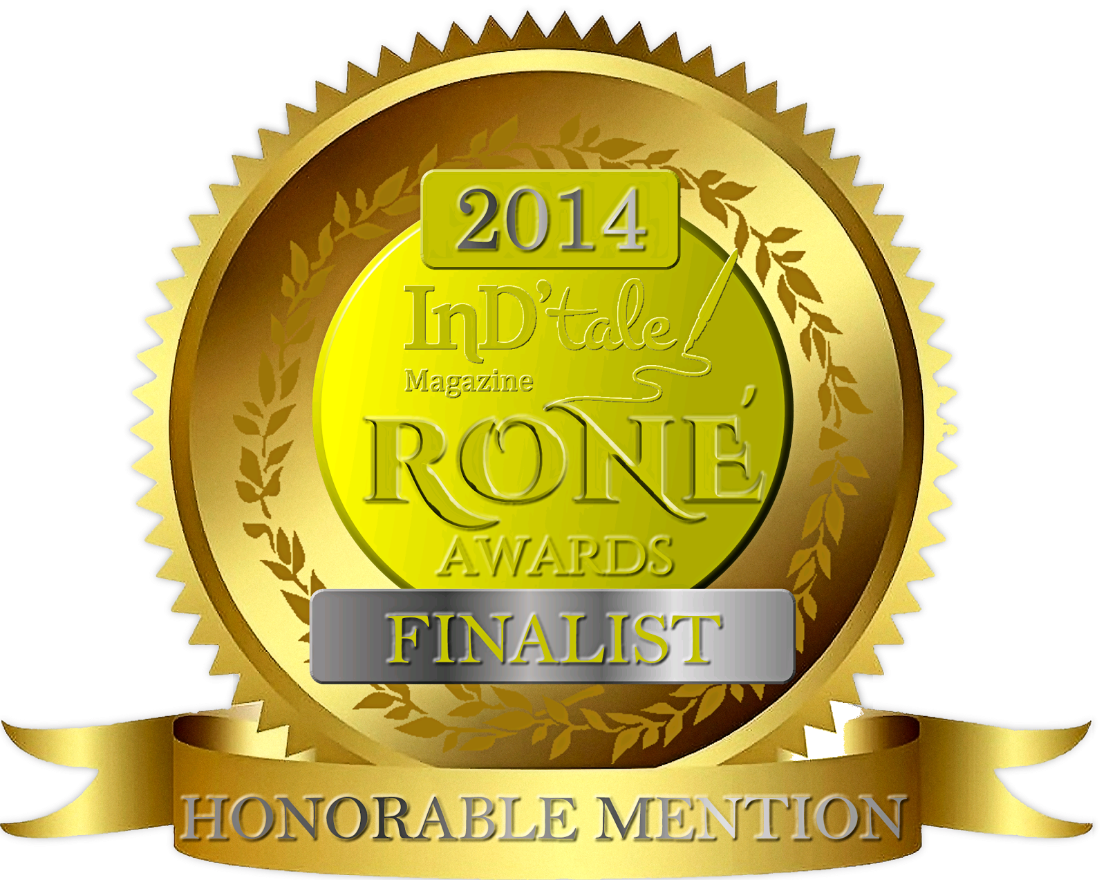 Prophecy's Child won first Honorable Mention in the 2014 R.O.N.E Awards