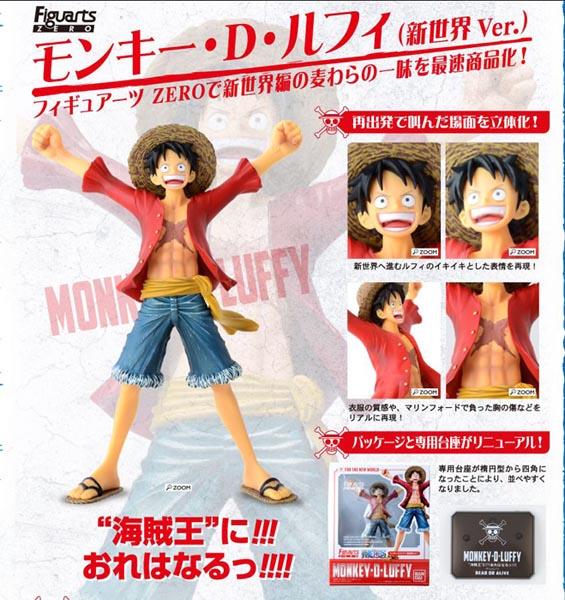 Figuarts ZERO Monkey D. Luffy New World Ver.