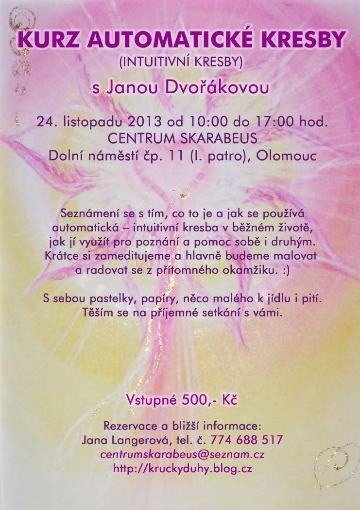 Pardubice Ezotericke 24 11 2013 Kurz Automaticke Kresby S Janou
