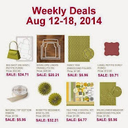 Items on Sale! Aug 12 - 18