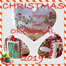 Christmas Ornie SAL Blog