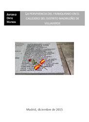 La pervivencia del franquismo en el callejero del distrito madrileño de Villaverde