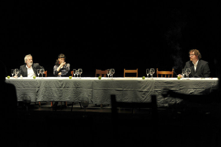 The Last Supper at the SJT