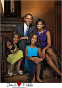 PHOTO: Obama's family picture: Before and After