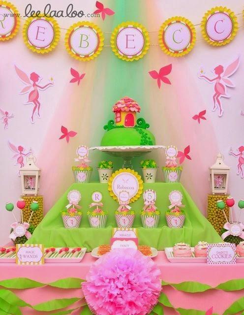 Fiestas Infantiles de Hadas y Princesas