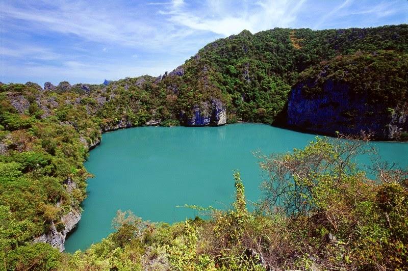 Lagune im Ang Thong Nationalpark
