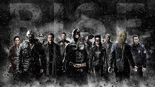 The Dark Knight Rises Movie Banner