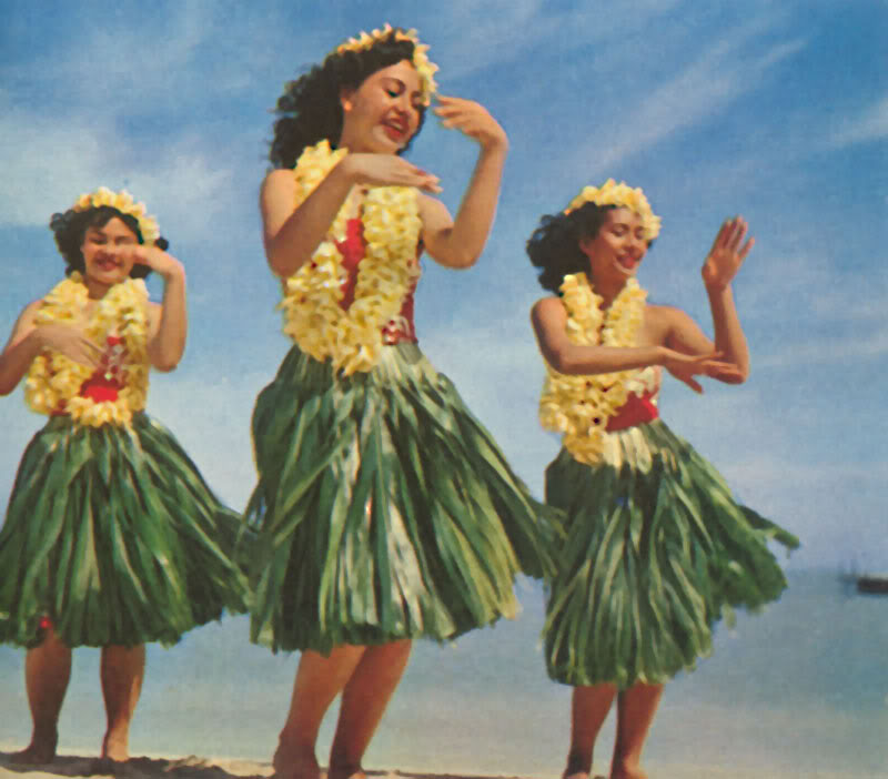 hawaiian hula dance gif