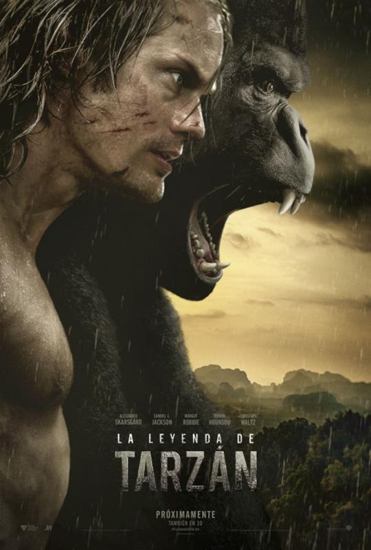 La Leyenda De Tarzan (22-07-2016)