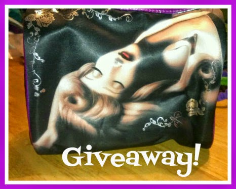 soho good vs evil large clutch bag