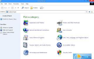 Merubah Tampilan Tema Windows XP 7