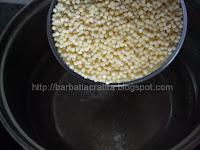 Cuscus cu legume Cous-cous fierbere