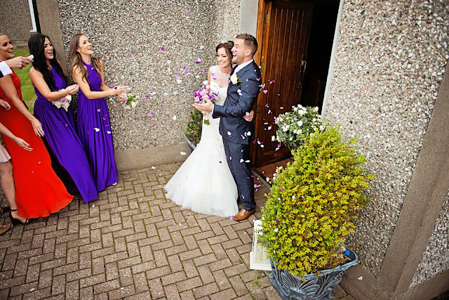 wedding photographer raheen church