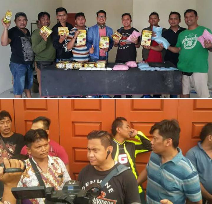 BNN dan Polrestabes Medan Amankan Tiga Tersangka Kepemilikan 14 Kg Sabu dan 4000 Butir Ekstasi