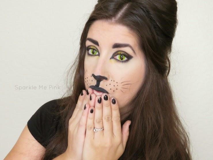 Sparkle Me Pink: Halloween Cat Makeup Tutorial | Hair, Makeup & Nails